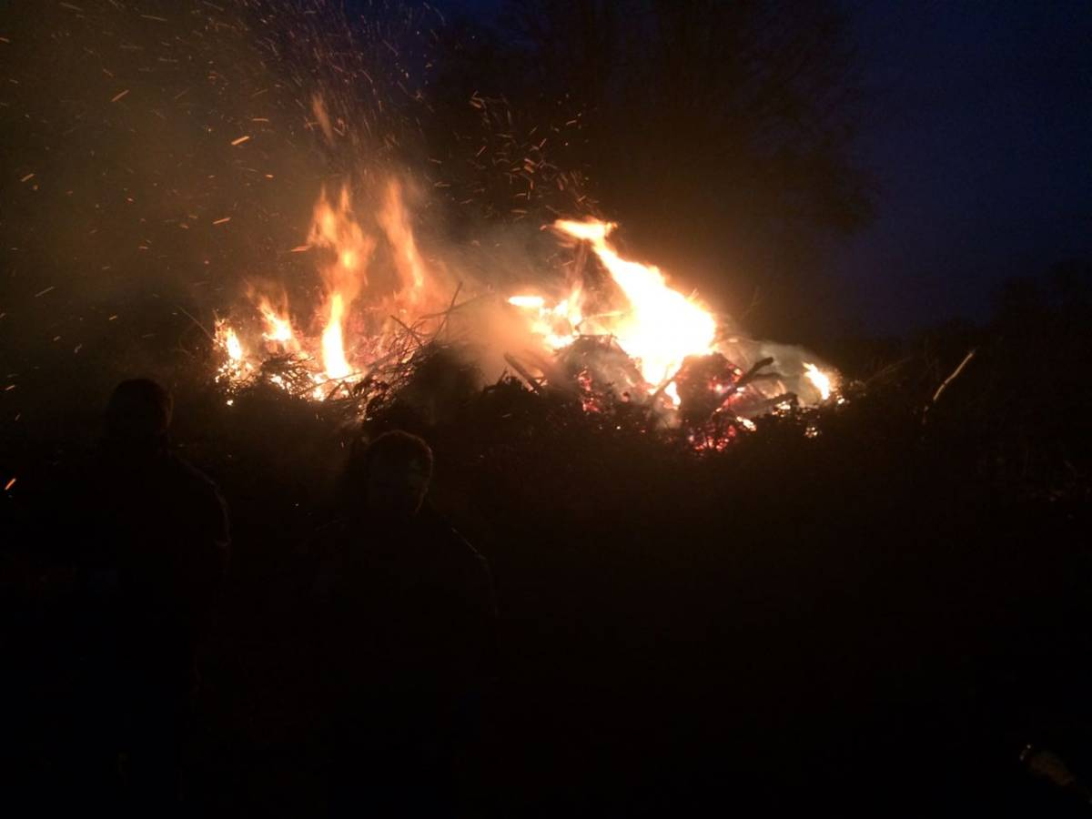 Osterfeuer in Haselhorn_02